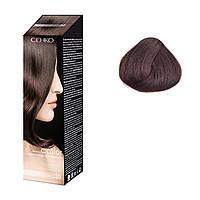Крем - фарба для волосся в наборі - C:EHKO З:COLOR № 30 (Темний каштан) (Оригінал)
