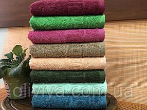 Полотенце для бани и сауны бирюзовый, фото 2