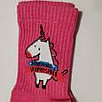 Носки женские розовые  🦄 размер 36-40, фото 3