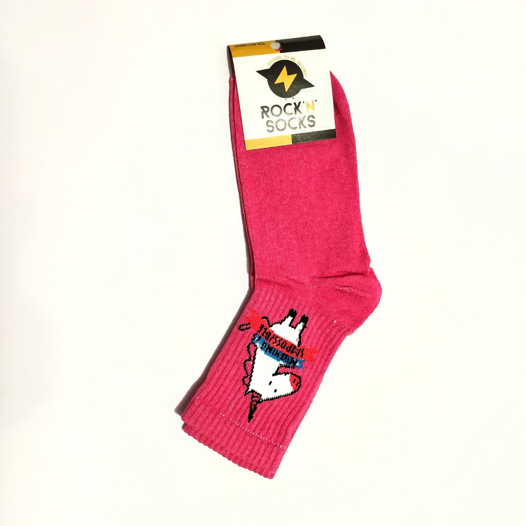 Носки женские розовые  🦄 размер 36-40