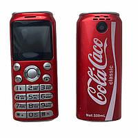 Мини телефон Bluetooth Гарнитура GTStar K8 X8 Coca-Cola красный