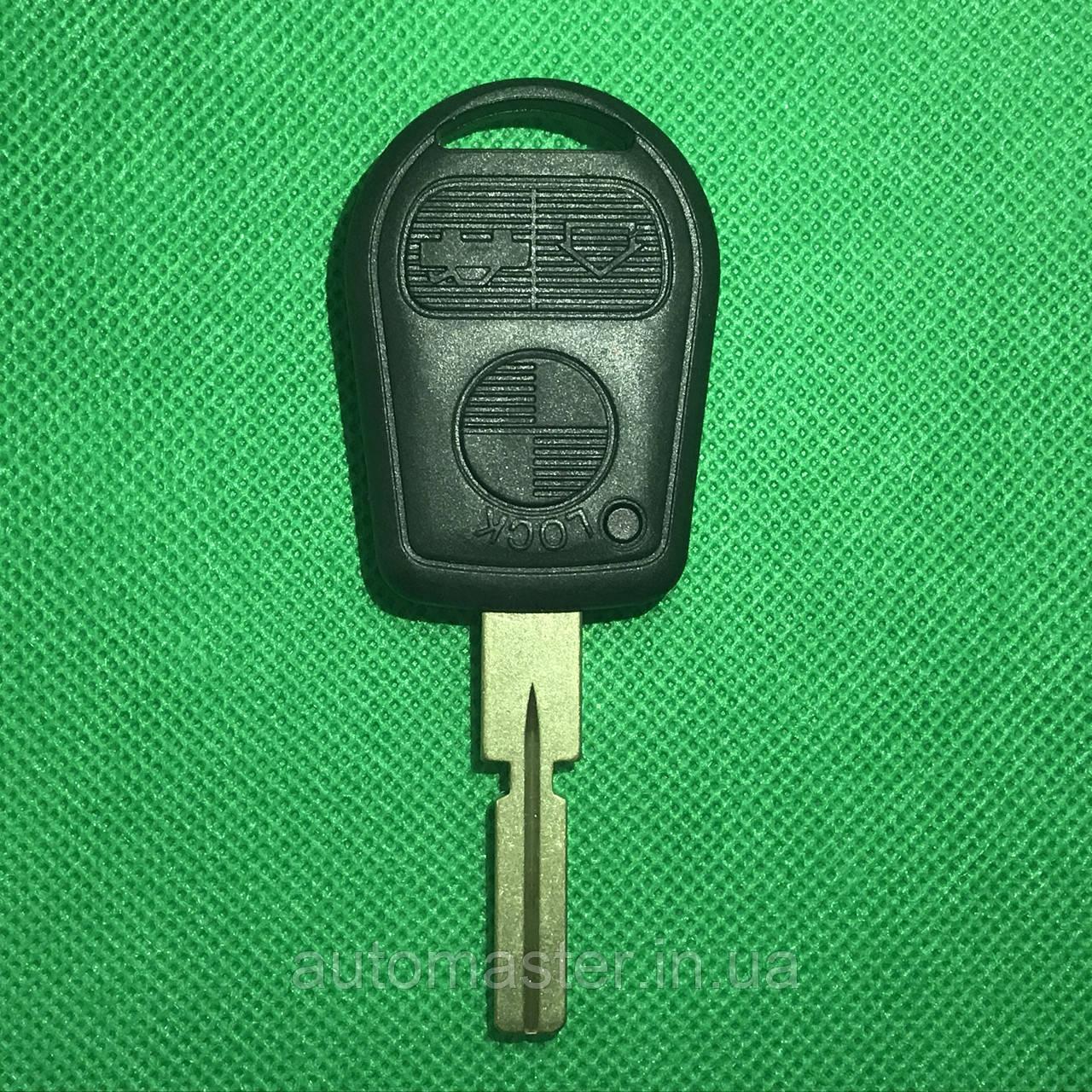 Ключ БМВ Bmw 3, 5, 7, x5  чип ID 44 E38,E39,E46 ,433Mhz Лезвие HU58