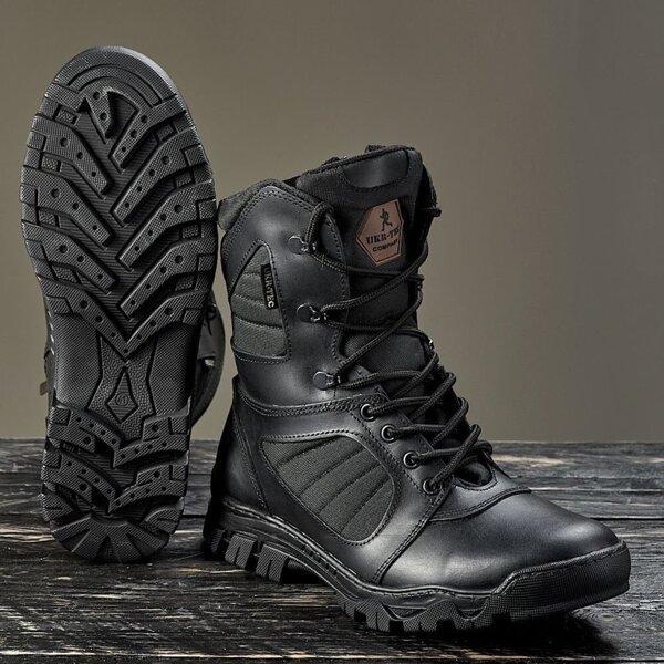 Берцы демисезонные / военная, тактическая обувь ЛЕГИОН (черный)