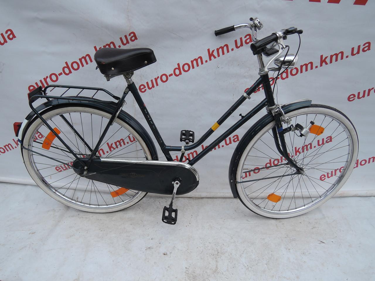 Городской велосипед Kalkhoff 28 колеса 3 скорости на планетарке