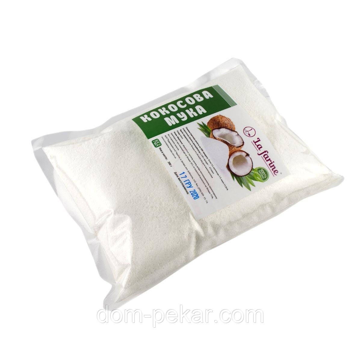 Кокосовая мука Nut Farine 50% жирность, 200 г