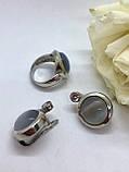 Комплект серебряных украшений Идеал от Ирида-В, фото 3