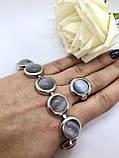 Комплект серебряных украшений Идеал от Ирида-В, фото 2
