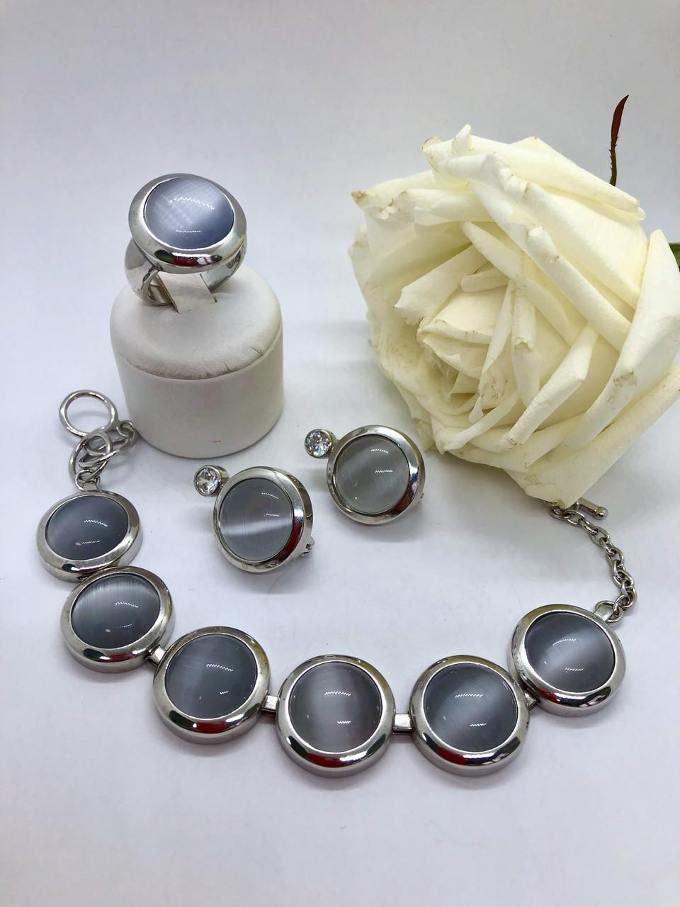 Комплект серебряных украшений Идеал от Ирида-В