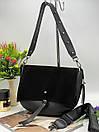 Сумка кросс-боди Модель - 086 Фото реал Материал - PU (экокожа) + натуральная замша, фото 6