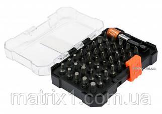 Набор бит, адаптер для бит, сталь (CrV, 41 предм., в пласт. боксе// STHOR