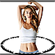 Масажний обруч з магнітами Massaging Hoop Exerciser, фото 5