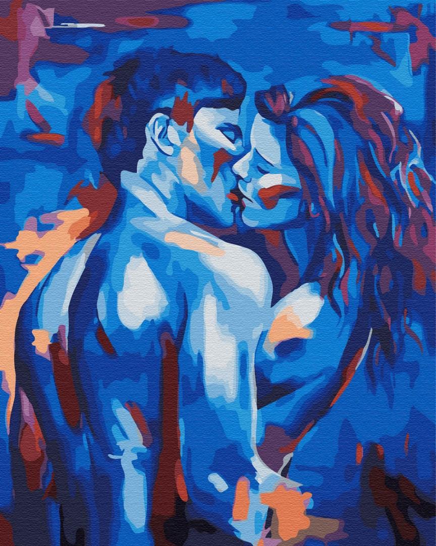 Картина по номерам Brushme Живописная любовь