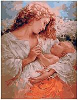 Картина по номерам Brushme Мама и малыш
