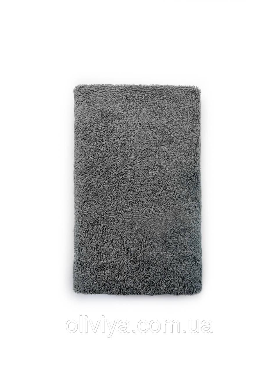 Полотенце для бани и сауны серый