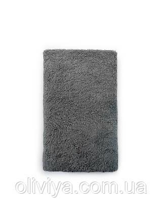 Полотенце для бани и сауны серый, фото 2