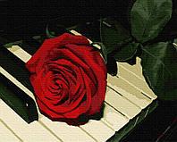 Картина по номерам Brushme Роза пианиста