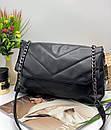 Женская  Сумка кросс-боди Модель - 12-20 Фото реал Материал - PU (экокожа), фото 2