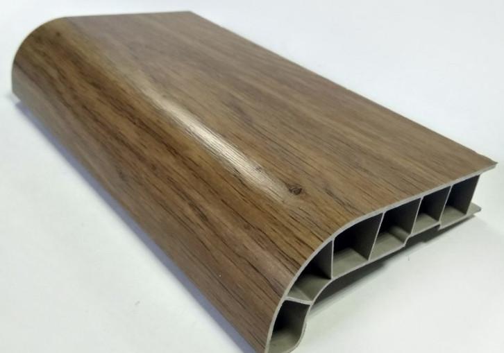 Заглушка соединительная к подоконнику SAUBERG (Сауберг) 90/135 градусов 600 мм Винчестер матовый