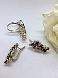 Комплект серебряных украшений Исида от Ирида-В, фото 2