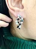 Комплект серебряных украшений Исида от Ирида-В, фото 4
