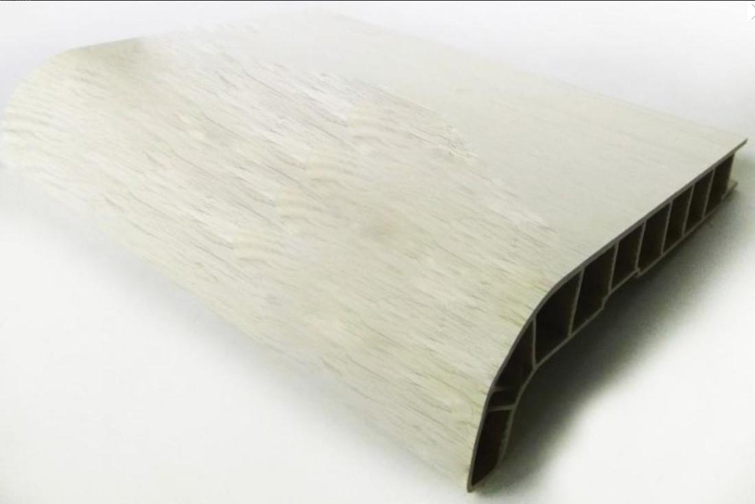 Подоконник SAUBERG (Сауберг) глубина 550 мм Белый Дуб матовый