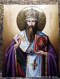 Икона Святитель Василий Великий писаная, фото 2