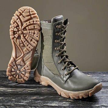 Берці зимові / військова тактична взуття ДЕЛЬТА (оливковий)