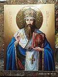 Икона Святитель Василий Великий писаная, фото 3