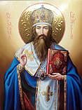 Икона Святитель Василий Великий писаная, фото 4