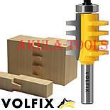 VOLFIX d12 фреза для зрощування деревини (мікрошип) (марошип) по довжині і ширині по дереву, фото 2