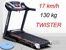 Електрична бігова доріжка 17 км / год, 130 кг