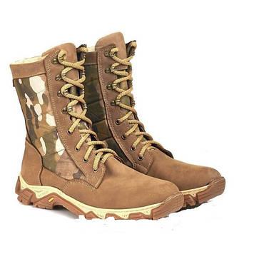 Берці зимові / військова тактична взуття ДЕЛЬТА ММ14 (піксель)
