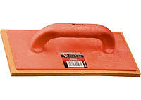 Терка пластмассовая, 280 х 140 мм, губчатое покрытие. MATRIX