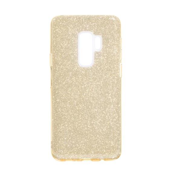 Блестящий силиконовый чехол Twins для Samsung Galaxy S9 Plus