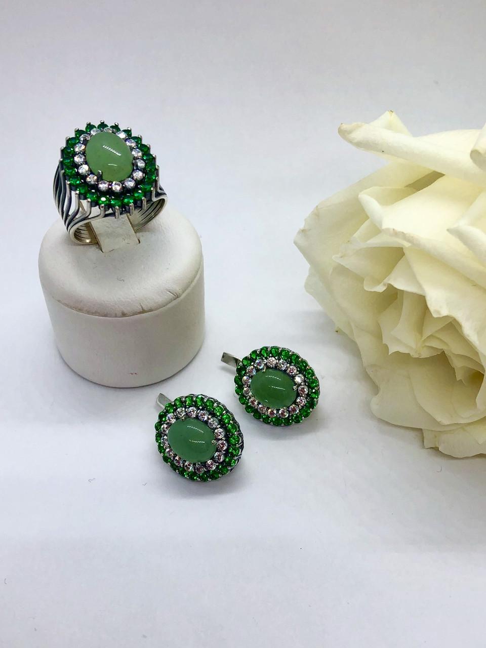 Комплект серебряных украшений Кэролл от Ирида-В