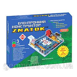 Конструктор - ЗНАТОК - Школа (999+ схем, электронный конструктор)