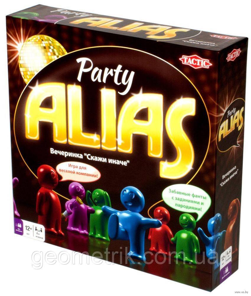 "Настільна гра ""Alias party"" (Tactic)"