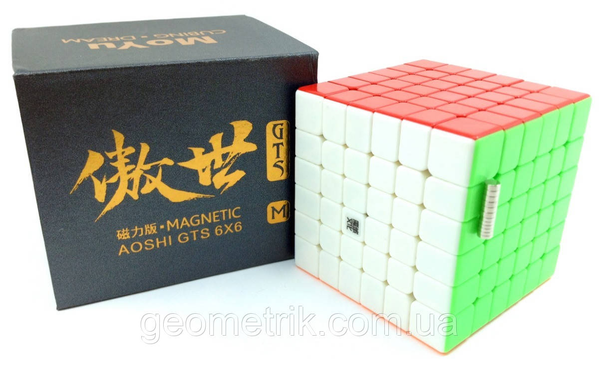 Кубик Рубика 6x6 AO Shi GTS M (Magnetic) Premium Class (без наклеек)