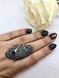 Комплект серебряных украшений Лавина от Ирида-В, фото 4