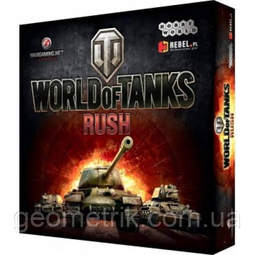 "Настольная игра ""World of Tanks Rush"" (2-е рус. изд.)(Hobby World, карточная игра)"