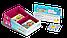 """Настольная игра """"Этажики"""" два уровня сложности 4+ и 8+ (детская настольная игра, развивающая), фото 2"""