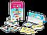 """Настольная игра """"Этажики"""" два уровня сложности 4+ и 8+ (детская настольная игра, развивающая), фото 5"""