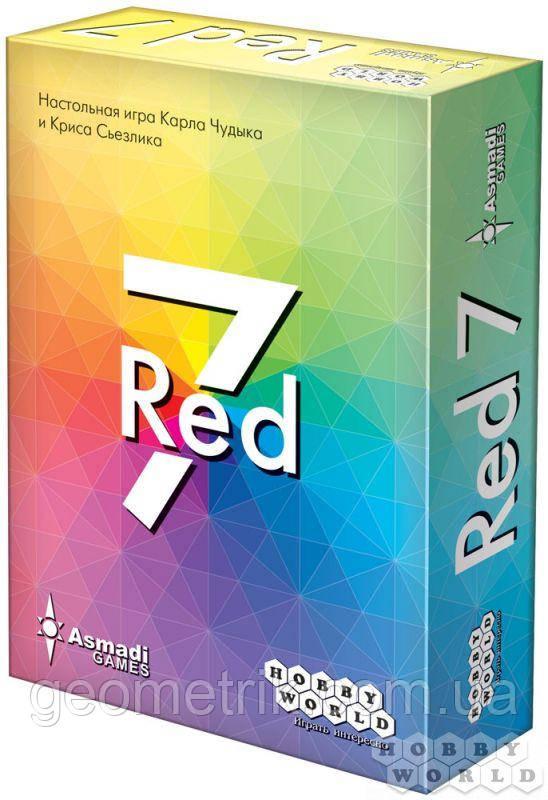 """Настольная игра """"Red 7"""" (карточная игра, для компаний, для всей семьи)"""