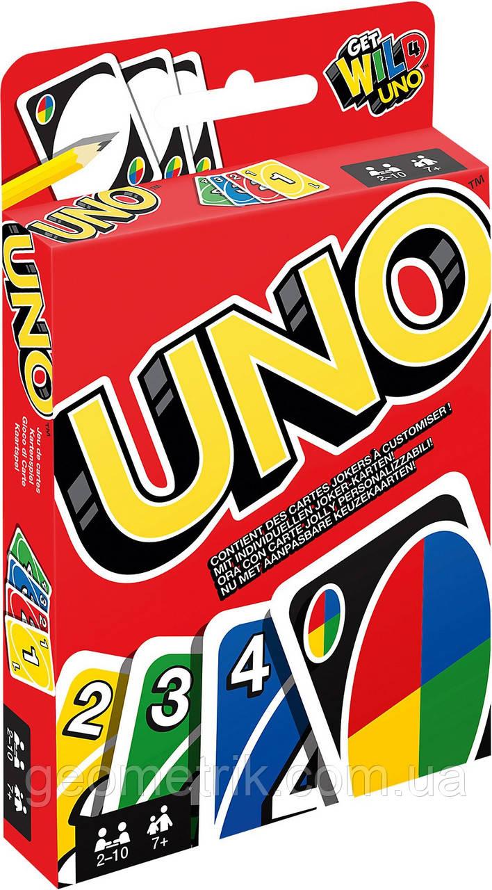 """Настольная игра """"Уно (UNO)"""" (original) (карточная игра для компаний)"""