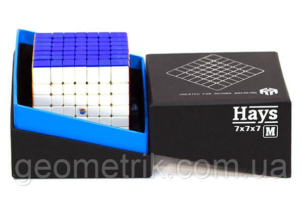 Кубик Рубика 7x7 Hays M (Magnetic) Ultra Premium Class (без наклеек, магнитный, Хейс)
