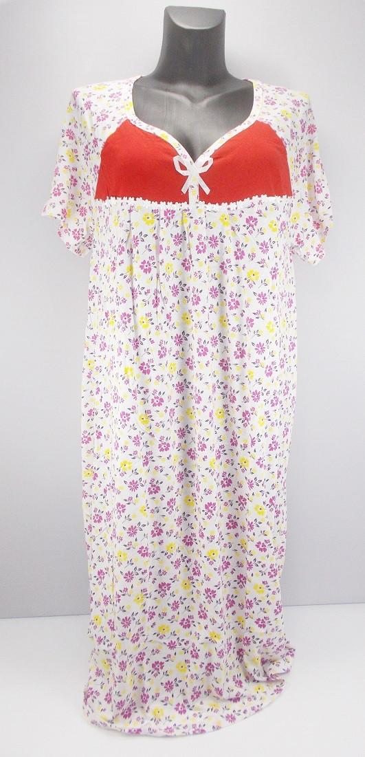 Ночная рубашка хлопок Ясмин 4 р.58-60 (в груди 110 см)