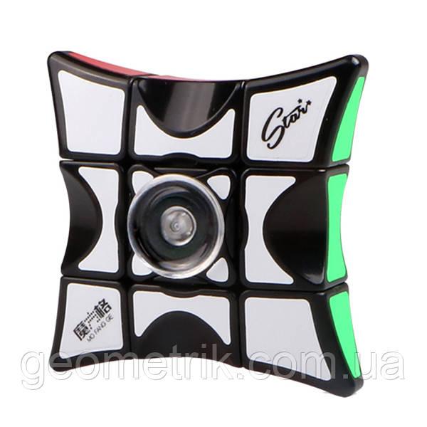 Кубоид+спиннер 1х3х3 MofangGe Spinner Cube (чёрный)(головоломка)