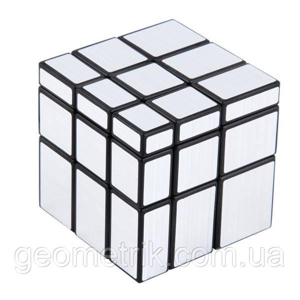 Зеркальный кубик Рубика 3x3x3 QiYi MoFangGe (Серебро)(головоломка)