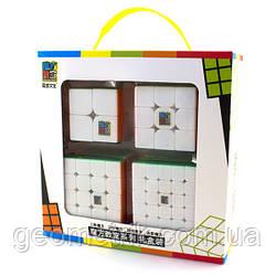 MoYu Gift Pack (Подарочный набор кубиков) (Цветной)(головоломки MoYu)