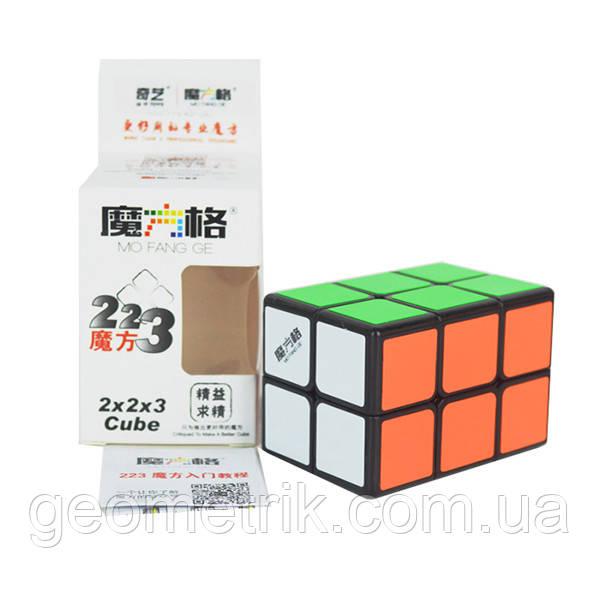 Кубоид 2х2х3 QiYi MofangGe (Черный)(головоломка)